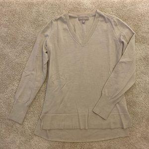 Banana Republic beige sweater